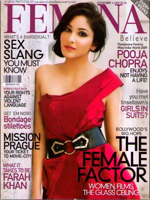 femina cover nov 2009